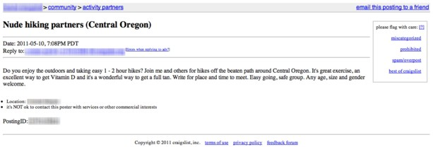 Wetsuit craigslist funny
