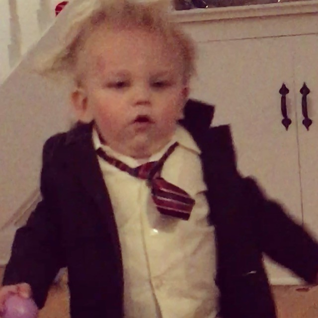 Baby Chris Farley Costume