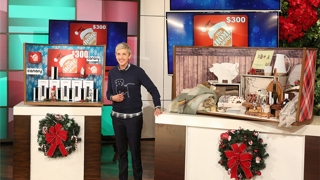Ellen degeneres 12 days of giveaways day 100