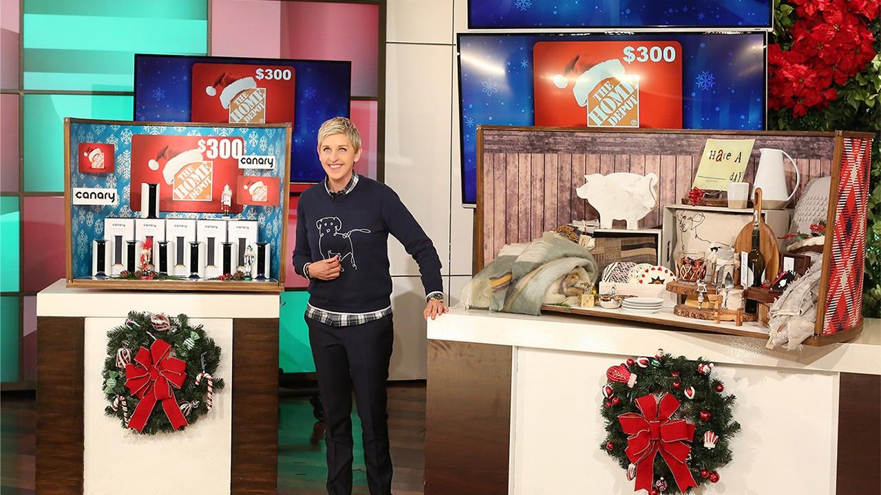 12 days of christmas giveaways ellen degeneres