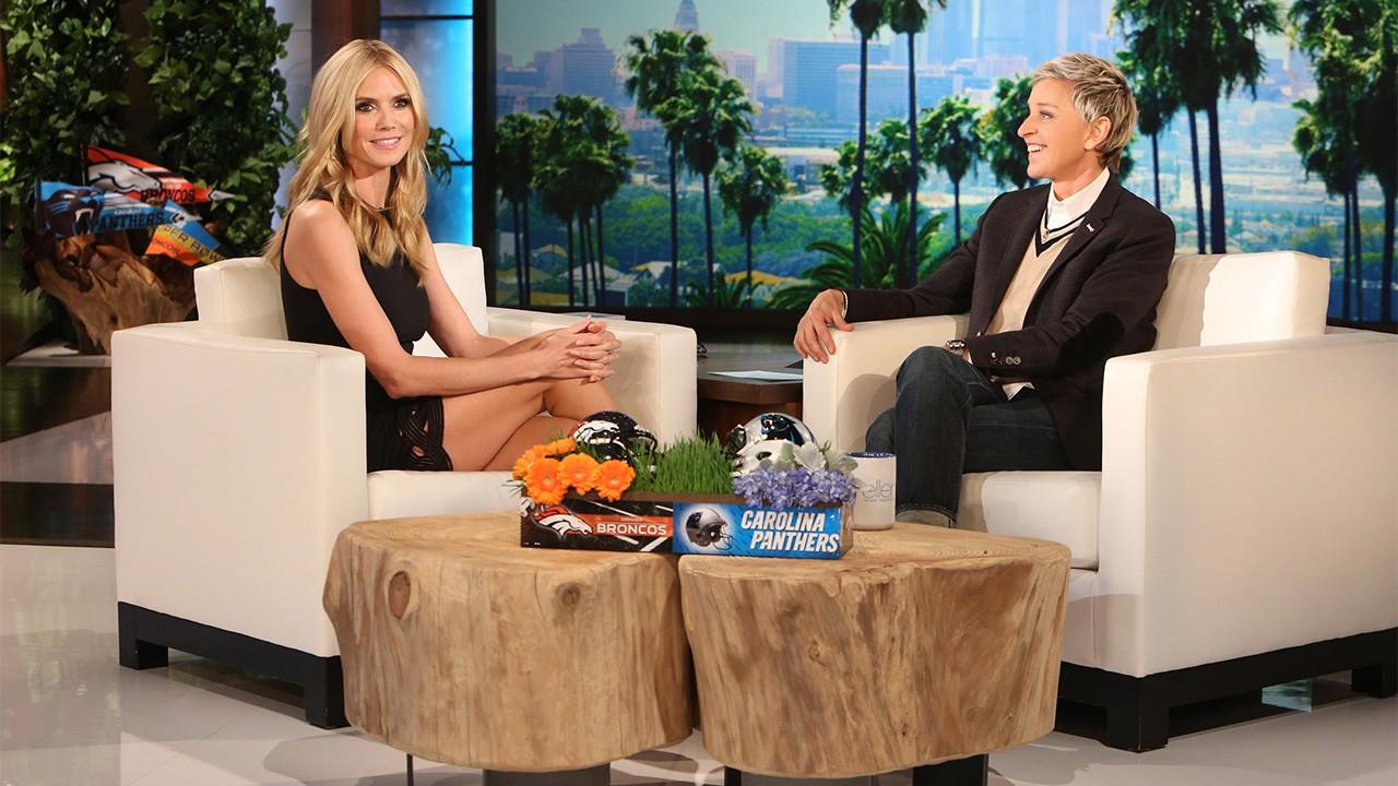 Heidi Klum Shows Off Her Undies