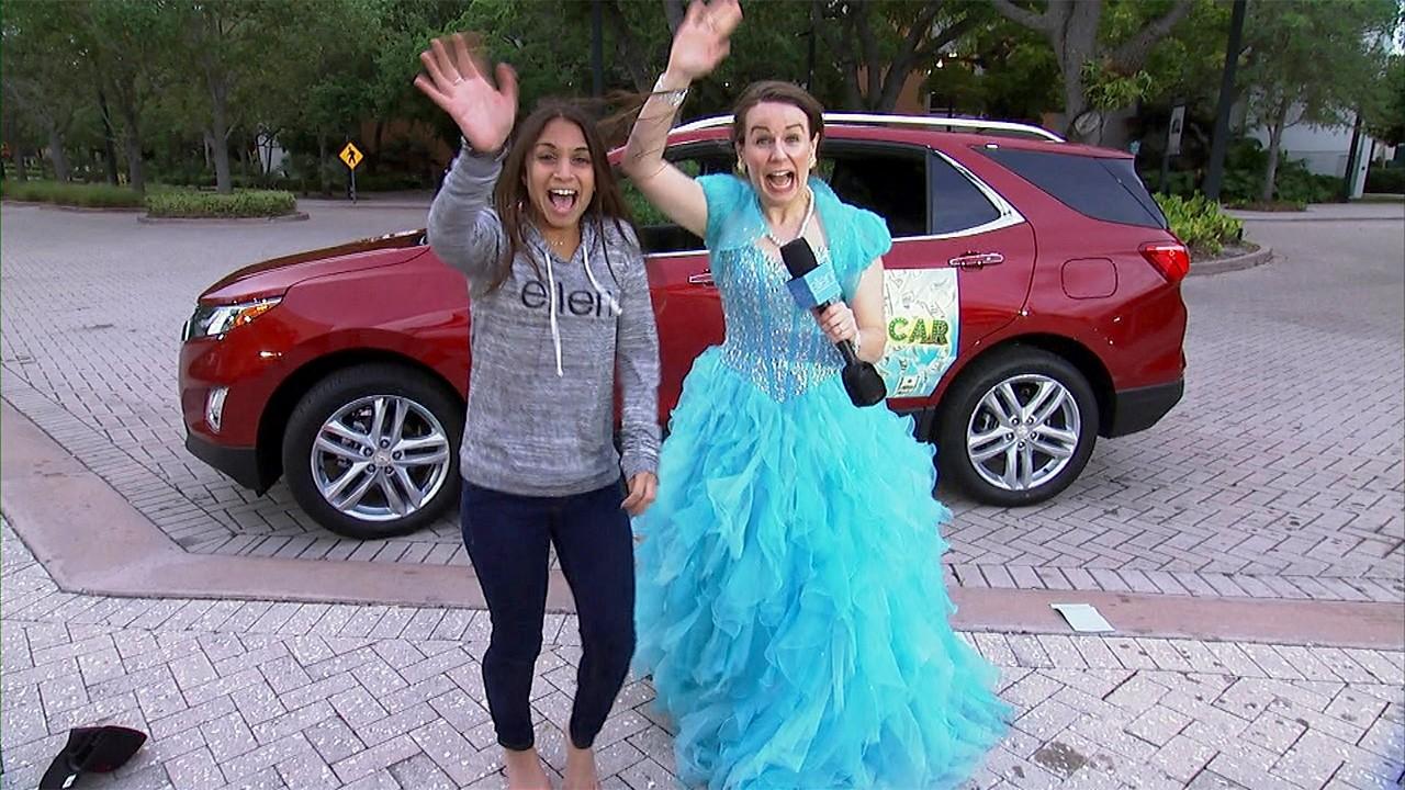 Ellen car giveaways