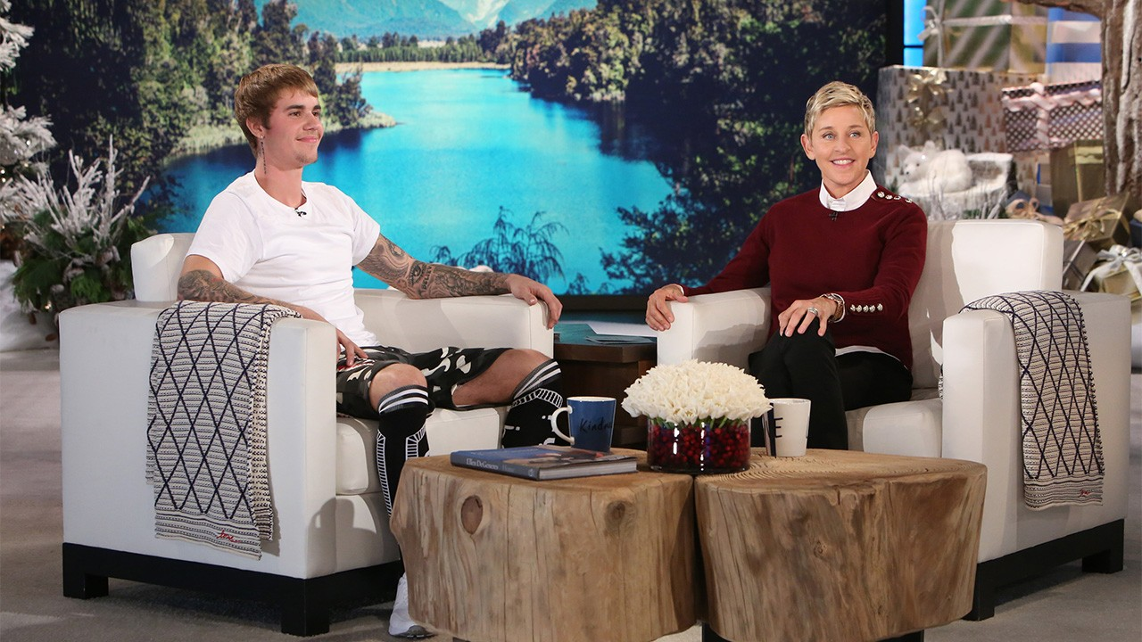 Justin bieber on ellen degeneres 2018 giveaways