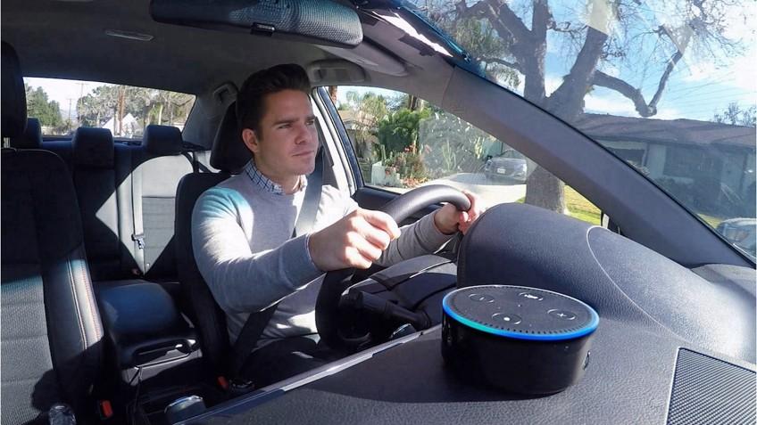 Ellen Previews The New Alexa Backseat Driver - Ellen degeneres show car giveaway