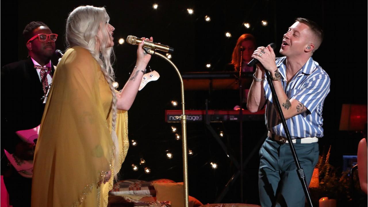 Macklemore & Kesha Perform 'Good Old Days'